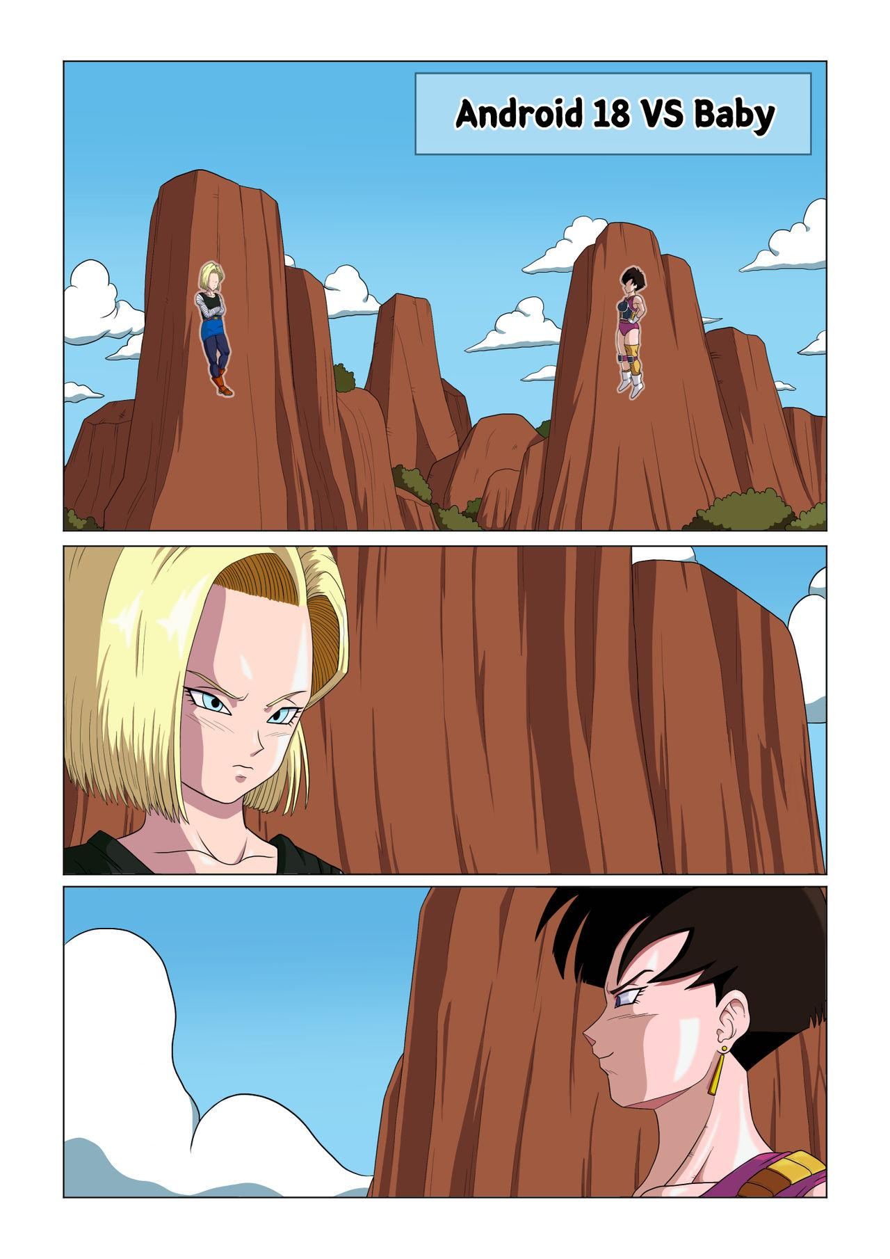 Android 18 vs Baby 0