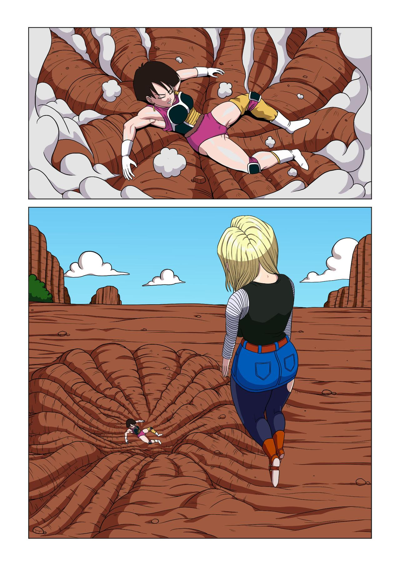 Android 18 vs Baby 12