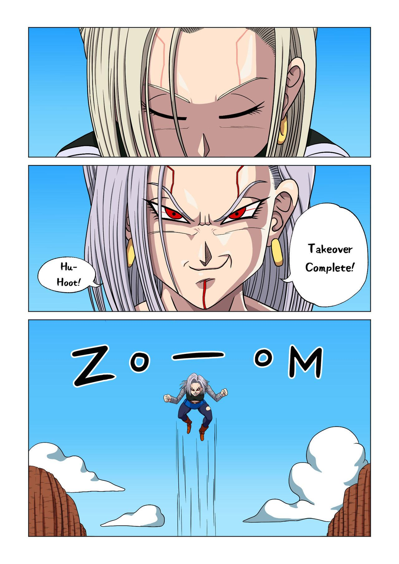 Android 18 vs Baby 13