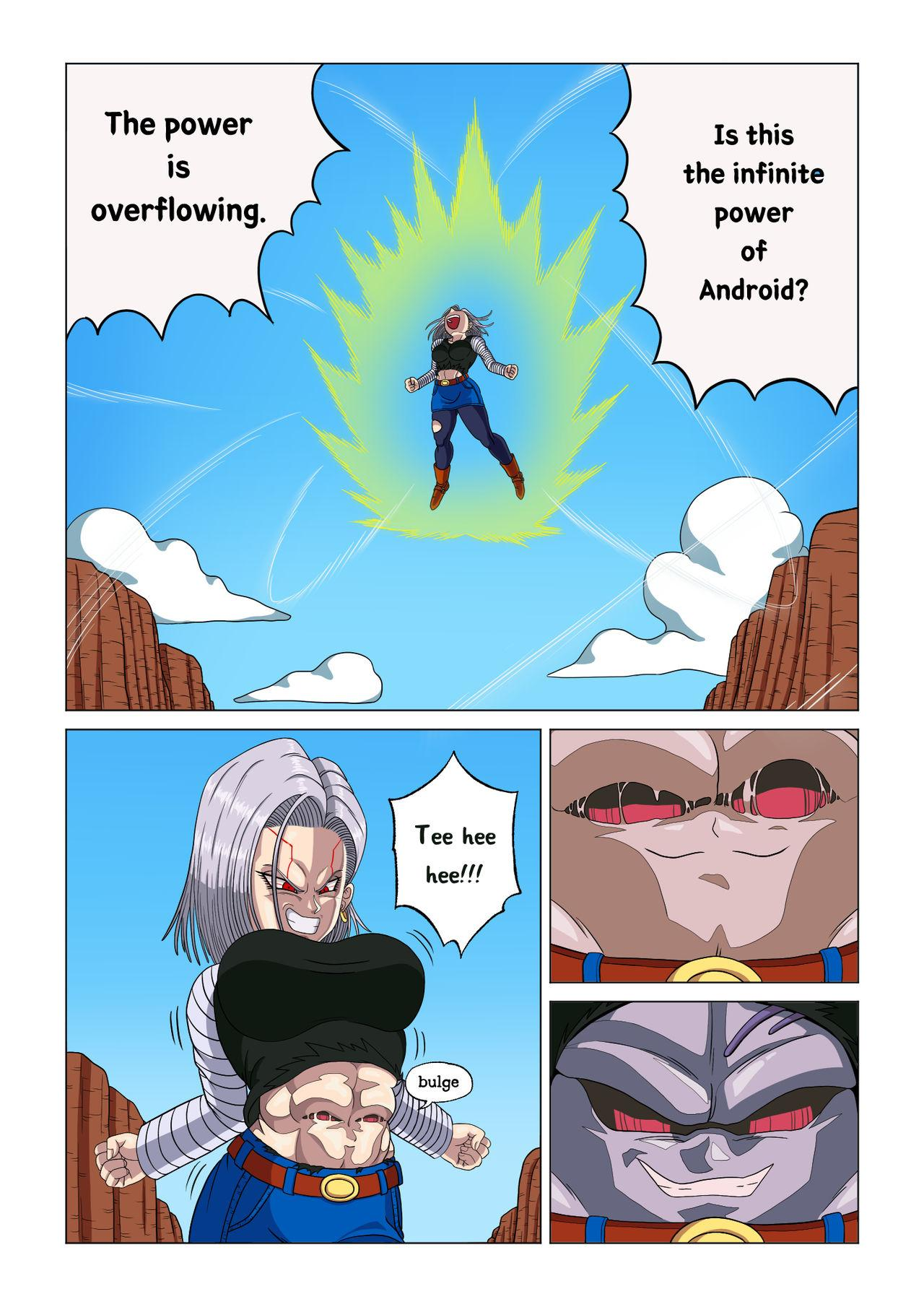 Android 18 vs Baby 14