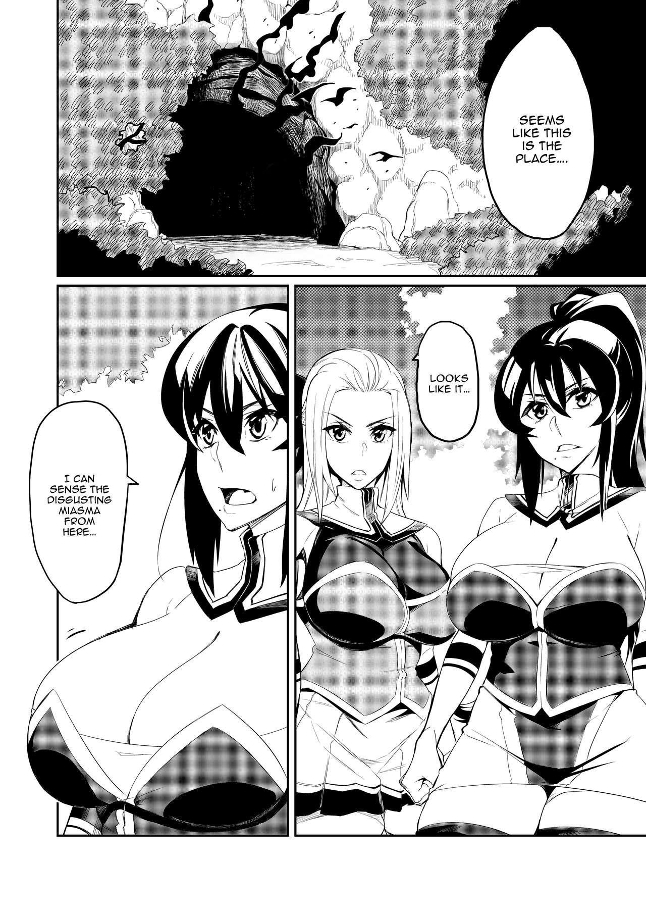 [Hatoba Akane] Demon Slaying Battle Princess Cecilia Ch. 1-8   Touma Senki Cecilia Ch. 1-8 [English] {EL JEFE Hentai Truck} 1