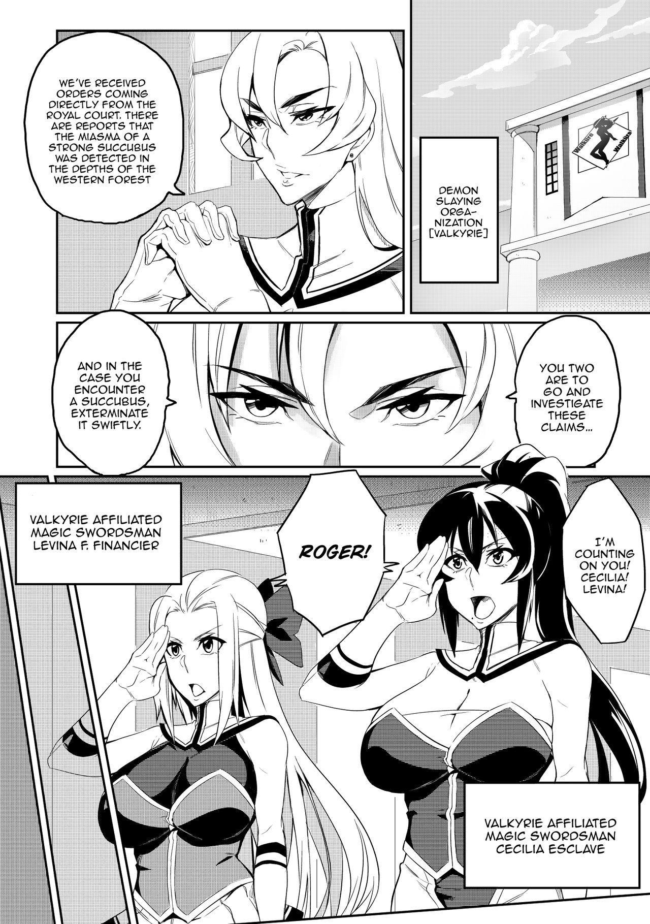 [Hatoba Akane] Demon Slaying Battle Princess Cecilia Ch. 1-8   Touma Senki Cecilia Ch. 1-8 [English] {EL JEFE Hentai Truck} 2