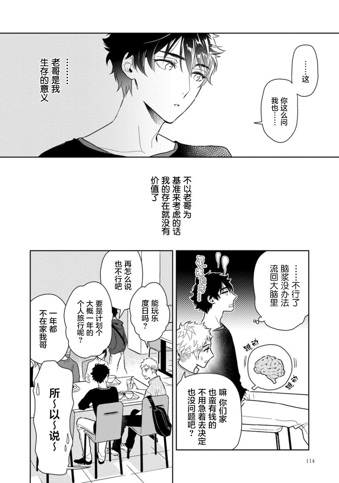 Aniki no ichiban Oishii Tokoro | 老哥最可口的部位 act.1—4 118