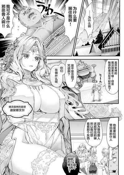Oideyo! Midarana Elf no Mori【羅莎莉亞漢化】 4