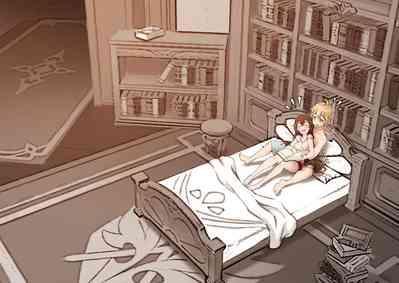Amber x Aether ~ serenitea pot sex!!! 6