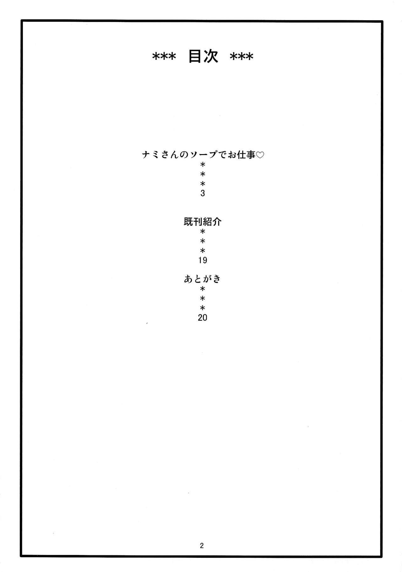 Nami no Ura Koukai Nisshi 8   Nami's Hidden Sailing Diary 8 2