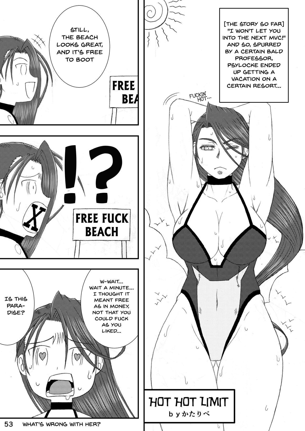 [POWERPLAY (Various)] CAPCOM (& MORE!) VS FIGHTING GIRLS Swimsuit & Gangbang Special (Various) [English] {Doujins.com} [Digital] 49