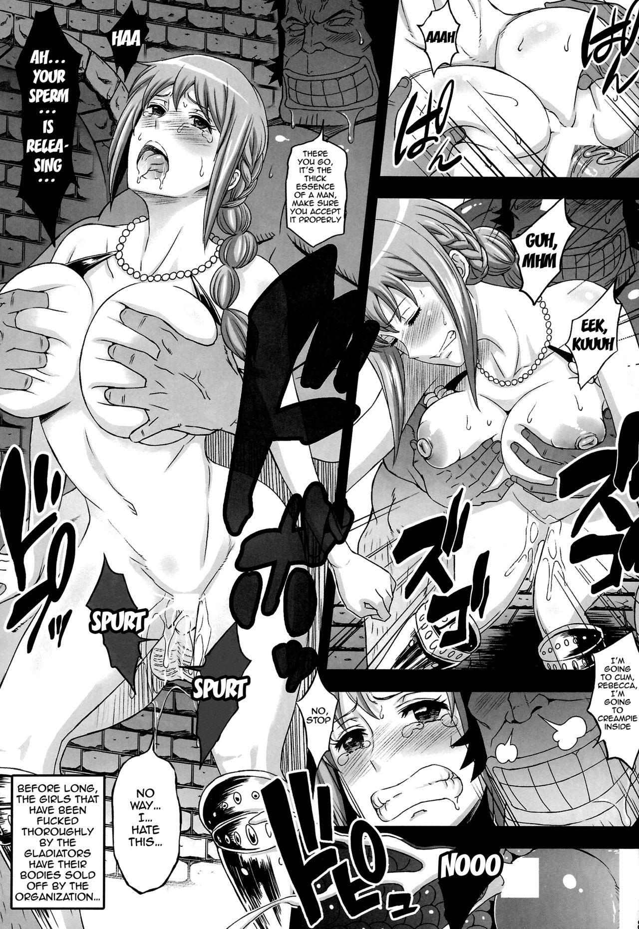 (C87) [Diogenes Club (Haikawa Hemlen)] Rakuen Onna Kaizoku Soushuuhen ~GOLD~ - Woman Pirate in Paradise (One Piece) [English] {doujin-moe.us} [Incomplete] 4