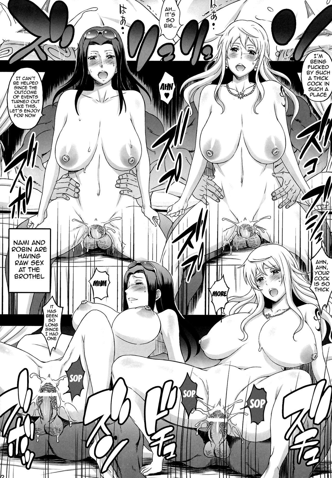 (C87) [Diogenes Club (Haikawa Hemlen)] Rakuen Onna Kaizoku Soushuuhen ~GOLD~ - Woman Pirate in Paradise (One Piece) [English] {doujin-moe.us} [Incomplete] 7