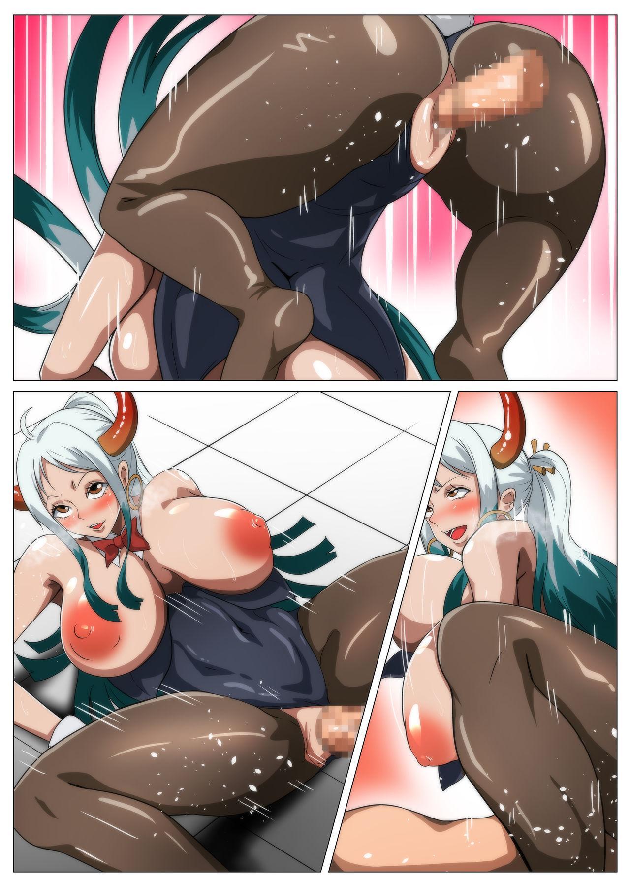 Bakunyuu Oni Musume no Hatsu Ecchi 41