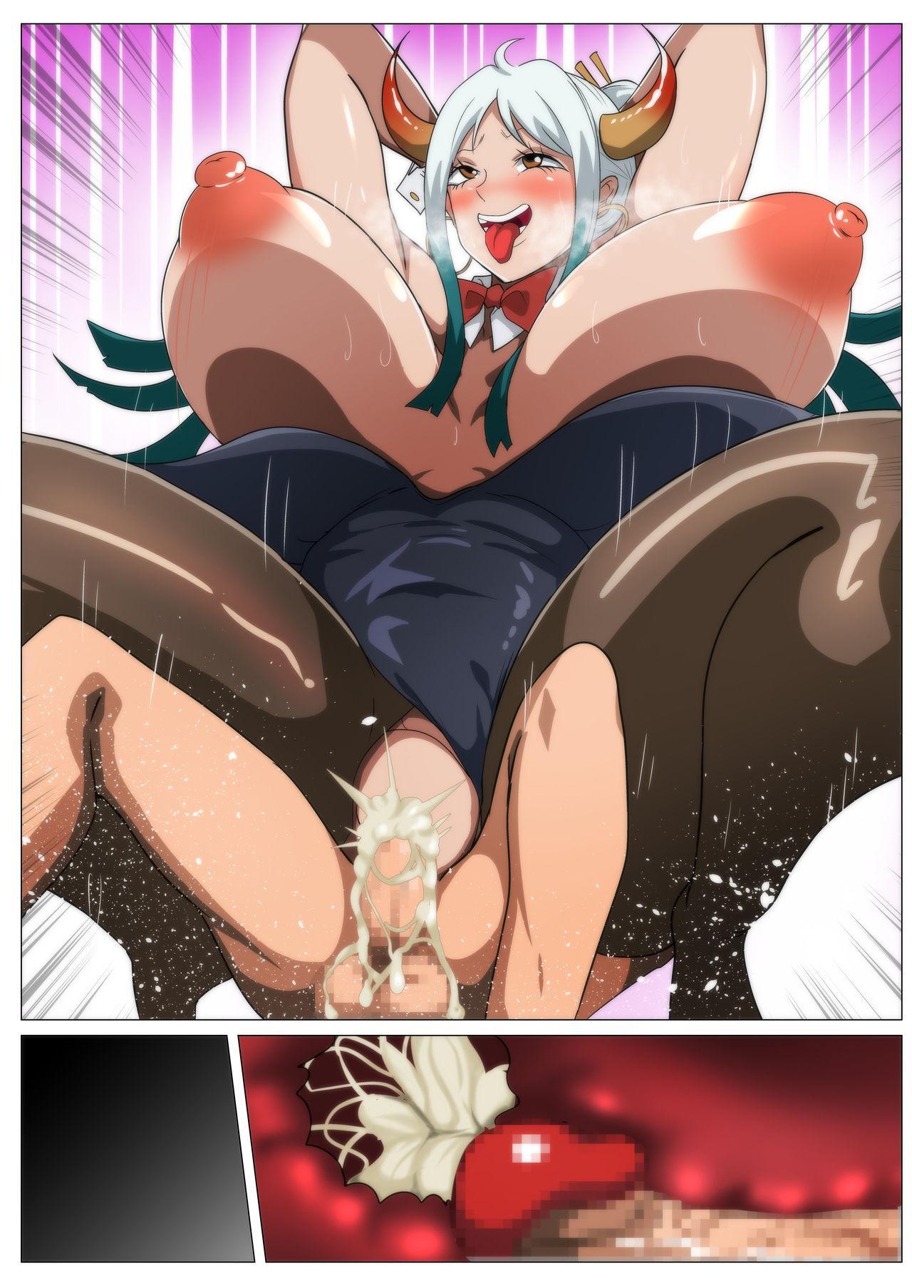 Bakunyuu Oni Musume no Hatsu Ecchi 42