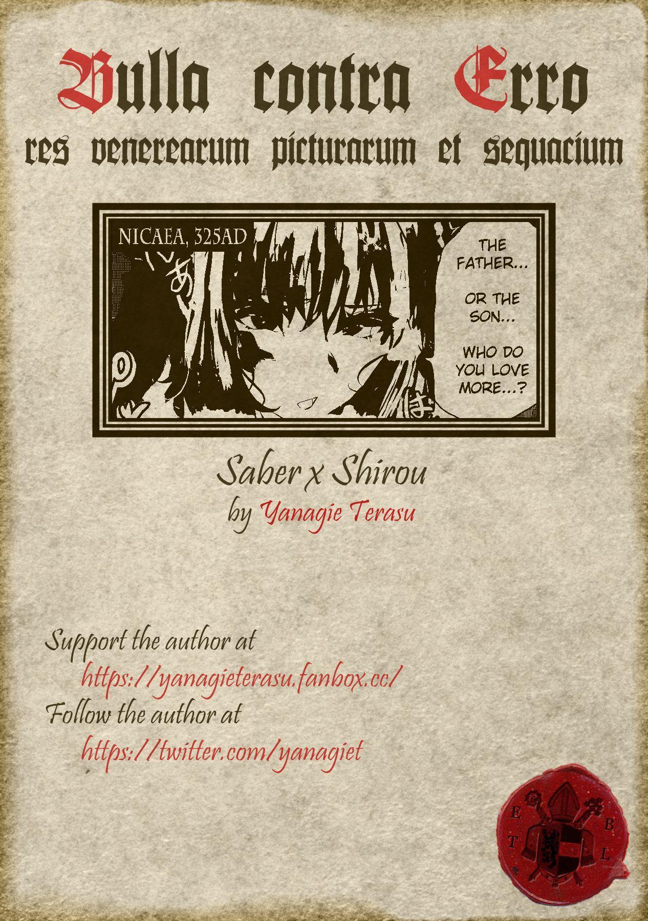 Saber X Shirou 8