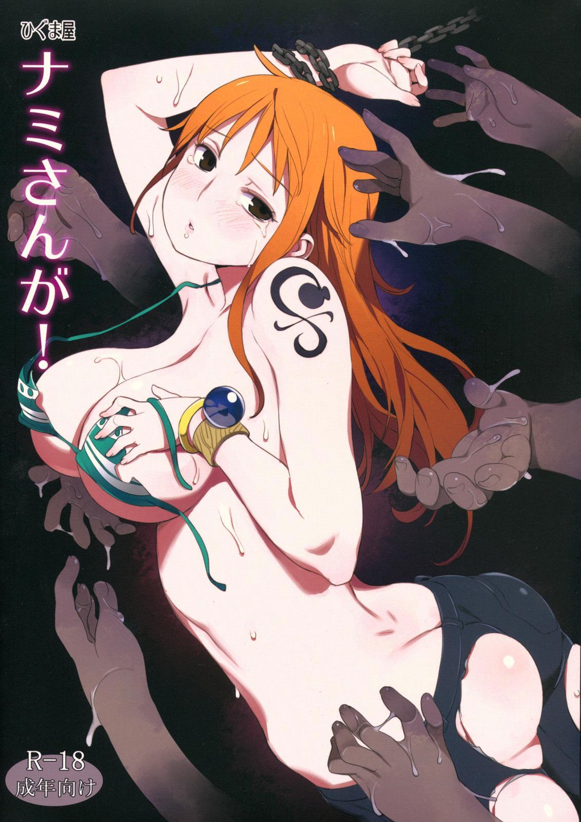 (C81) [Higuma-ya (Nora Higuma)] Nami-san ga! | Nami-san is! (One Piece) [English] {doujin-moe.us} 0