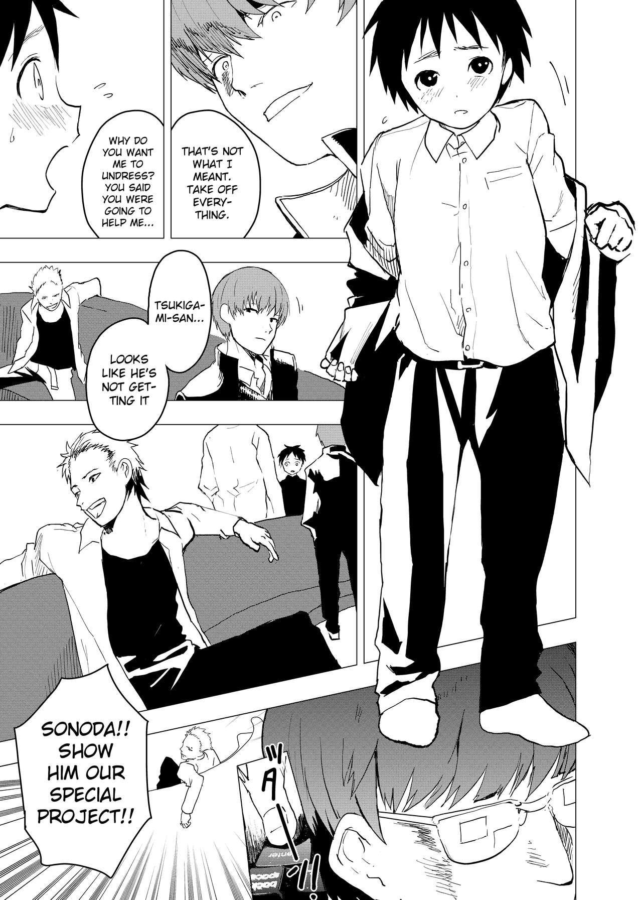 Ibasho ga Nai node Kamimachi shite mita Suterareta Shounen no Ero Manga   A Dirty Manga About a Boy Who Got Abandoned and Is Waiting for Someone To Save Him Ch. 5 18