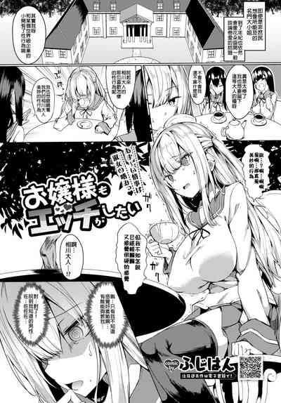 Ojou-sama mo Ecchi ga Shitai 1
