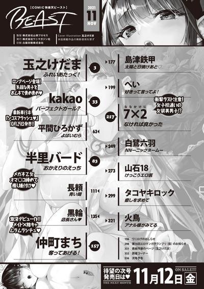 COMIC Kairakuten BEAST 2021-11 2